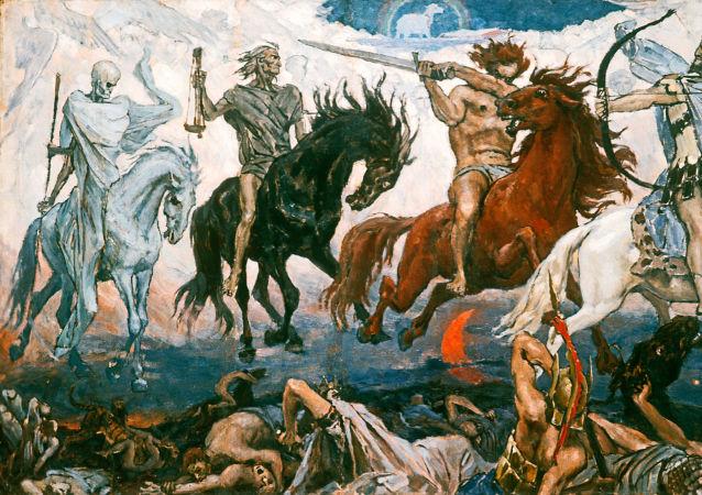 I Cavalieri dell'Apocalisse, quadro di V.M. Vasnetsov