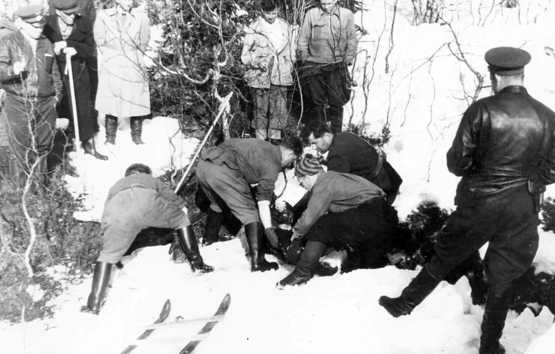 Il ritrovamento dei corpi nella primavera del 1959
