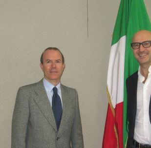 Gianluca Savoini e Gianmarco Senna