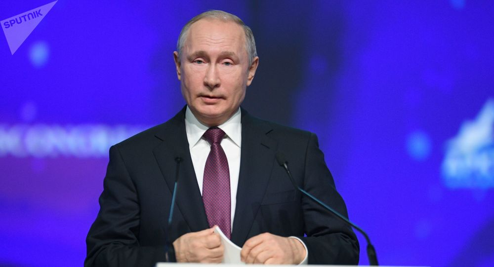 Vladimir Putin al Forum Artico Internazionale
