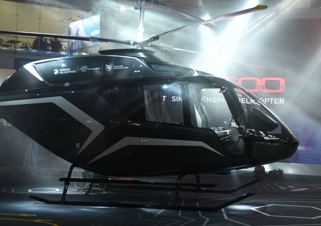 L'elicottero VRT500 della holding Russian Helicopters