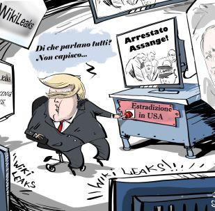 USA, Trump: Wikileaks? Non sono affari che mi riguardano