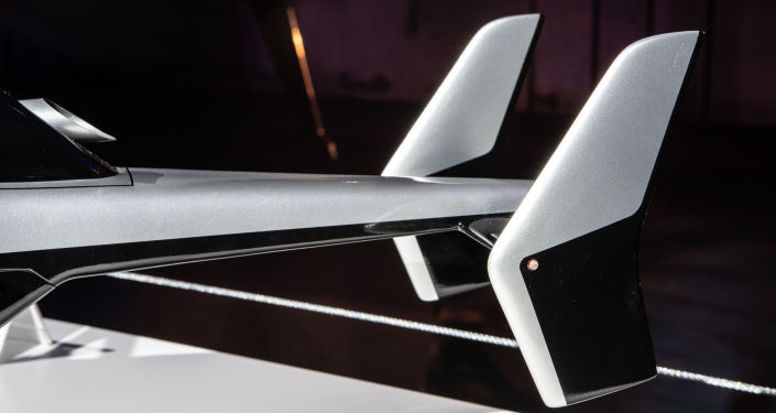 Modello dell'elicottero ultraleggero VRT500
