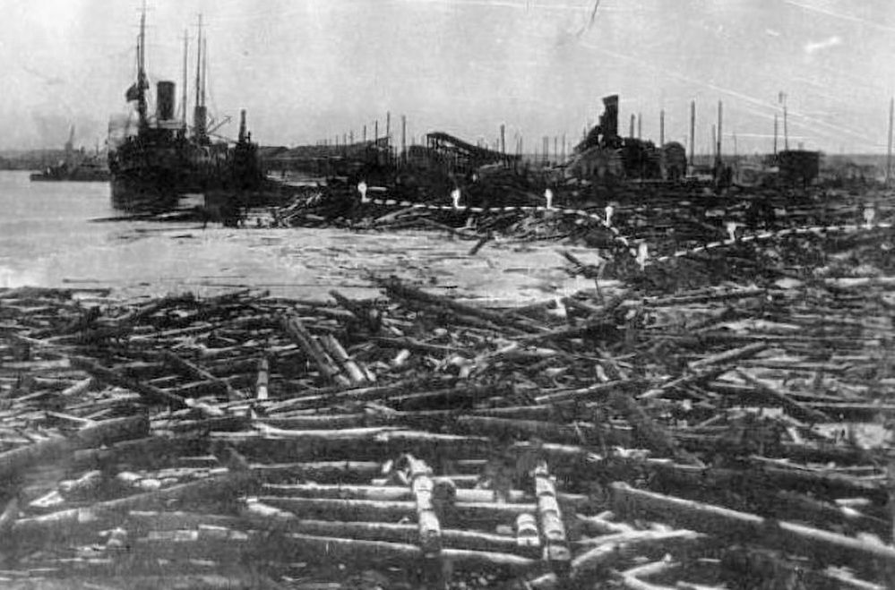 Il 26 ottobre 1916 nel porto Bakaritsa di Arkhangelsk esplose il mercantile Baron Drizen