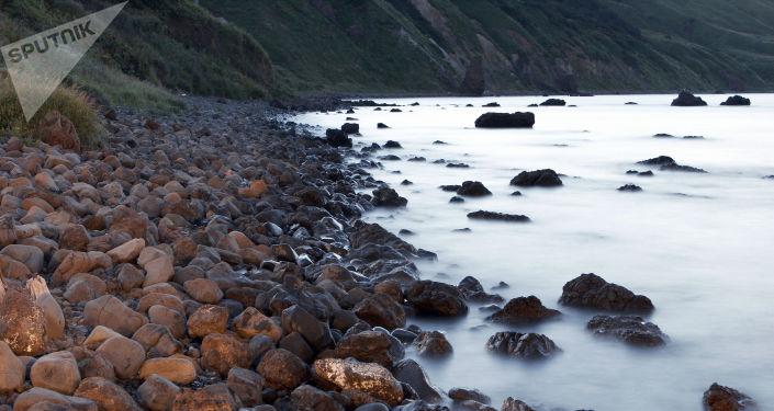 Spiaggia a Sachalin - 2006