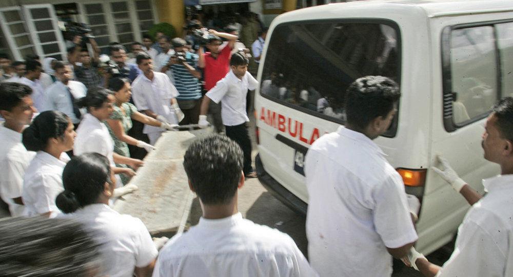 Un pronto soccorso in Sri Lanka (foto d'archivio)