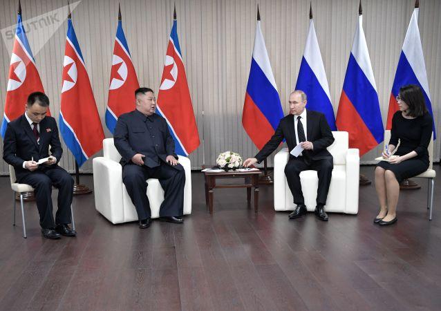 Incontro tra Kim Jong-un e Vladimir Putin a Vladivostok