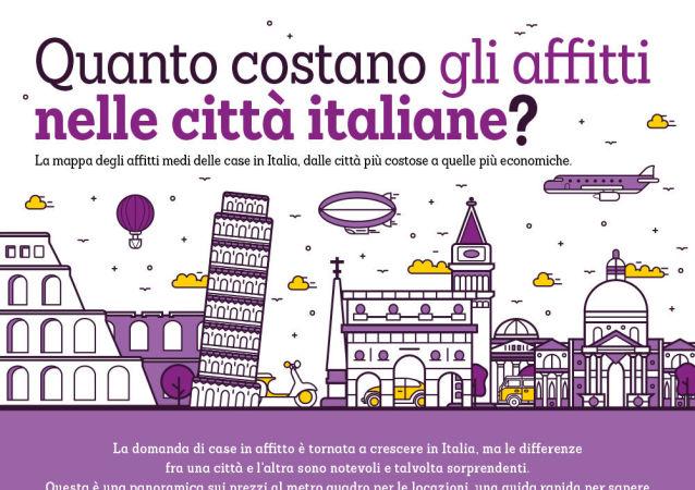 Quanto costano gli affitti nelle città italiane