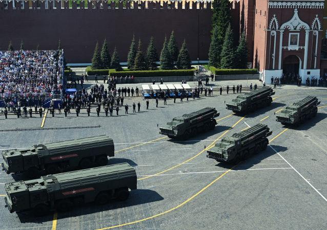 Il sistema balistico tattico Iskander alla Parata della Vittoria 2019 per il 74° anniversario della Vittoria