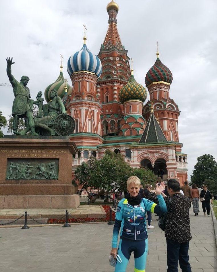 Francesca Filippi a Mosca