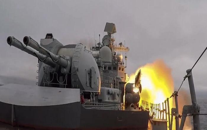 Lancio del missile Mosquito
