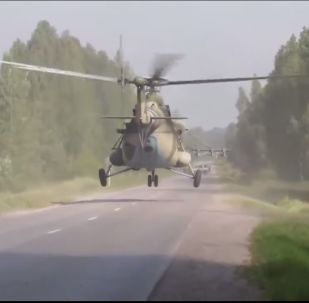 Forze speciali russe compiono esercitazioni a Novosibirsk