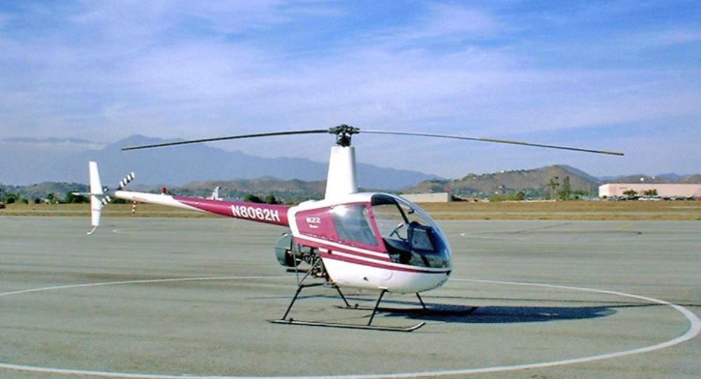 Elicottero ultraleggero tipo Robinson