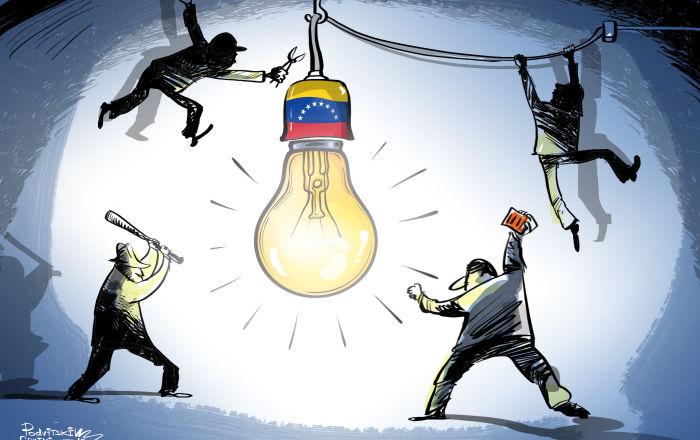 Attacco criminale nel Venezuela