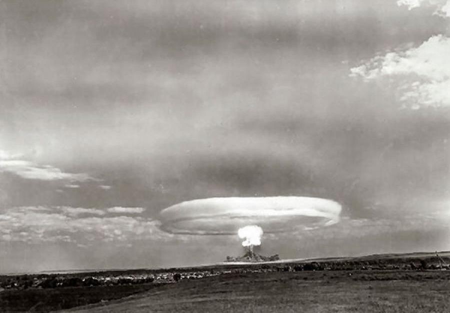 A settembre 1954 i militari testarono una testata nucleare tattica al poligono di Totskoe
