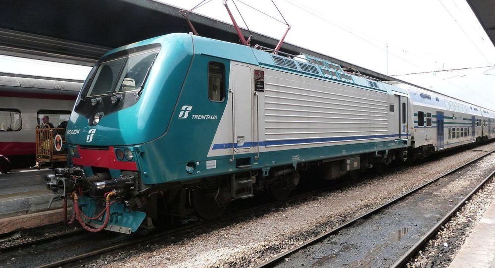 Un treno regionale Trenitalia