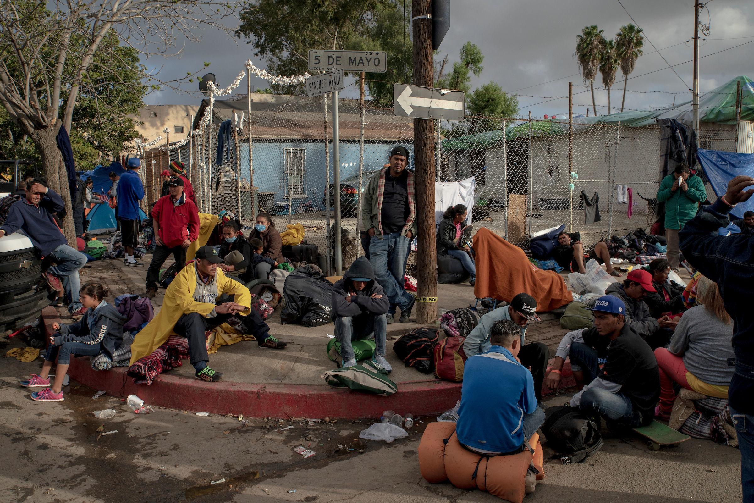 """""""La carovana dei migranti"""", Kitra Cahana (USA)"""