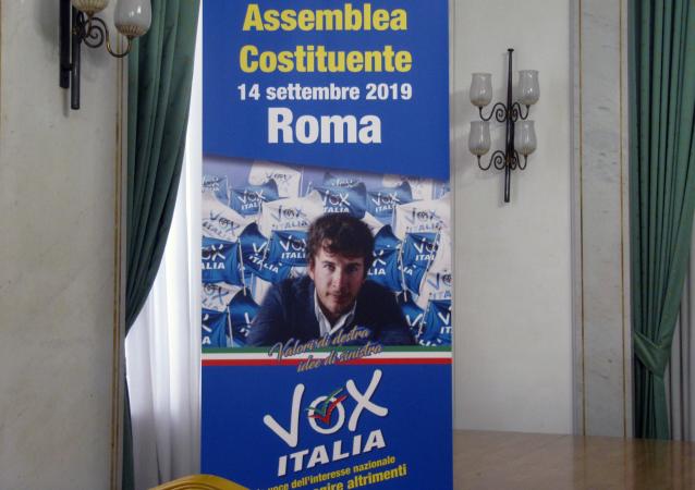 Nascita partito Vox Italia