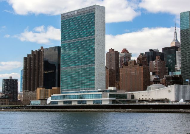L'edificio dell'Assemblea Generale delle Nazioni Unite a New York