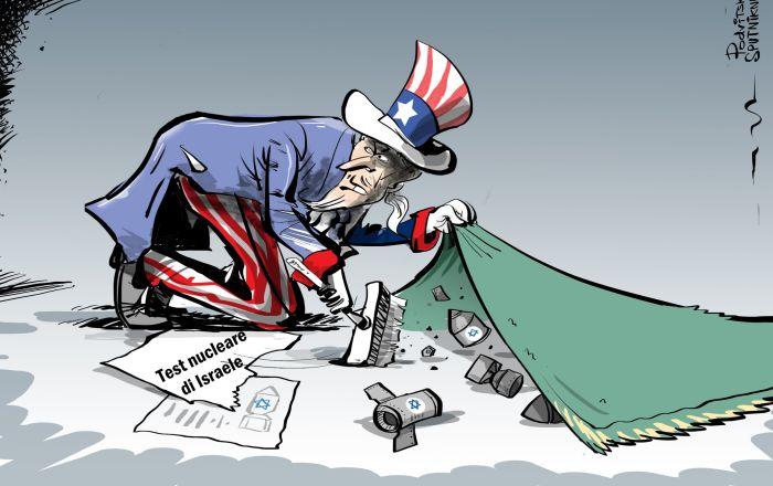 Media: Israele ha condotto un test nucleare, e gli USA lo hanno nascosto