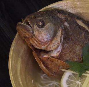 Prova il ramen al piranha!