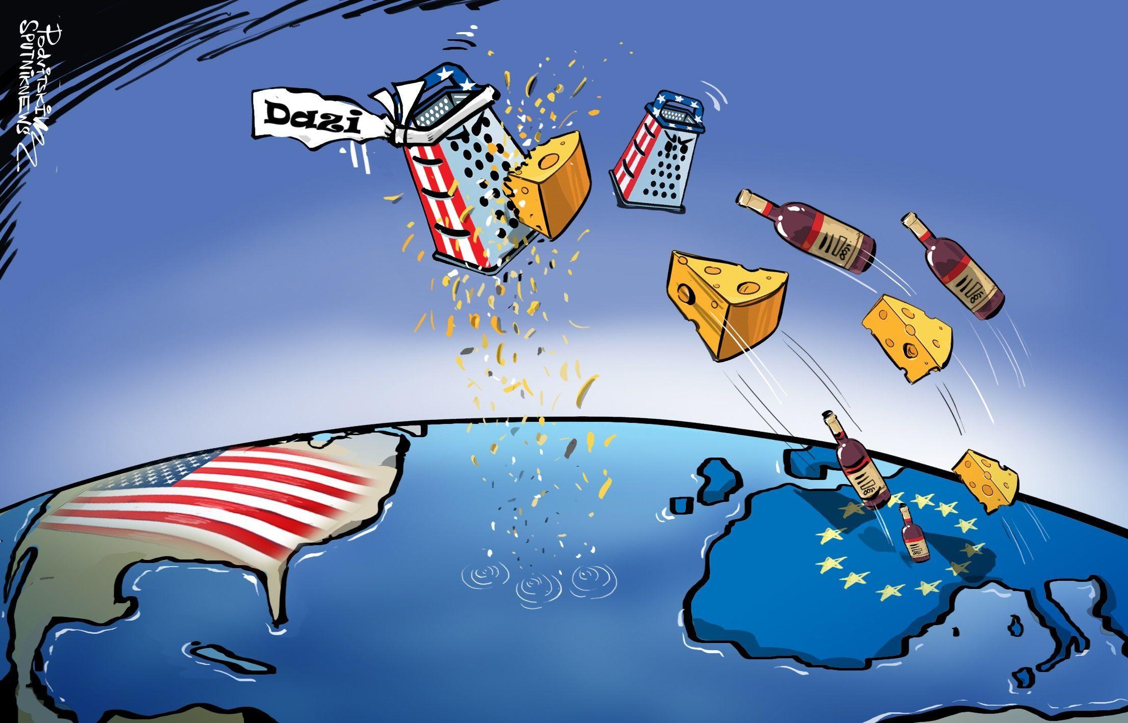 Imposte Usa sui prodotti europei