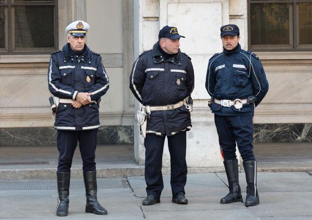 Polizia municipale italiana