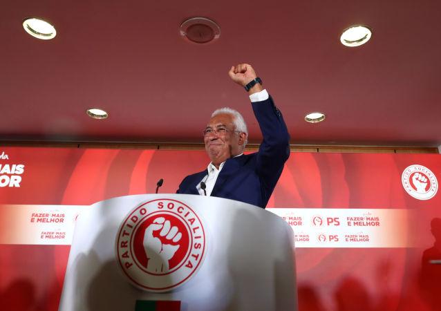 Il leader del partito socialista portoghese António Costa