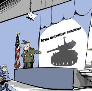 Gli Stati Uniti stanno sviluppando una quantità enorme di nuove armi che nessuno può nemmeno immaginare