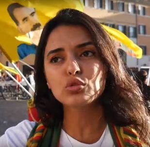 Italia: curdi in strada a Roma contro l'operazione turca in Siria settentrionale