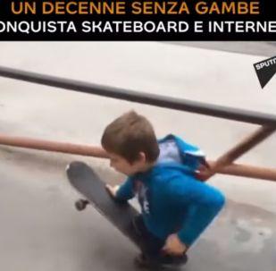 Maxim Abramov, lo skater senza gambe
