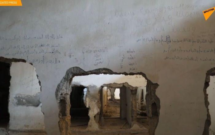 La prigione dello Stato islamico sotto lo stadio di Raqqa
