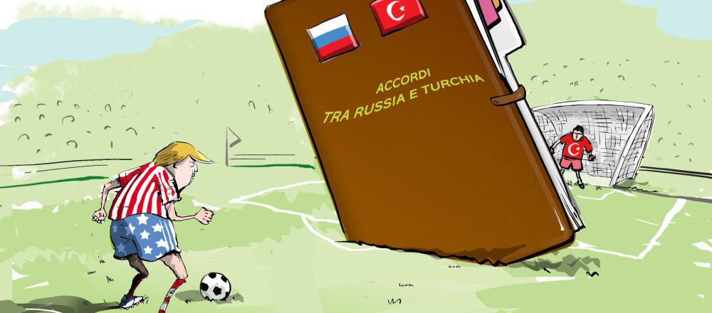 USA VS Russia e Turchia