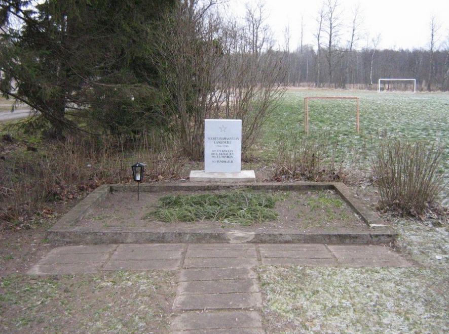 Il monumento ai soldati sovietici, foto d'archivio
