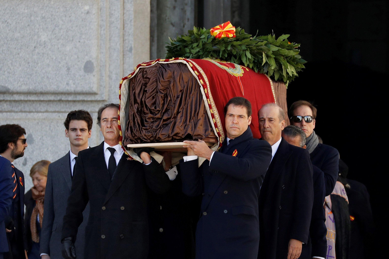 L'esumazione di Francisco Franco