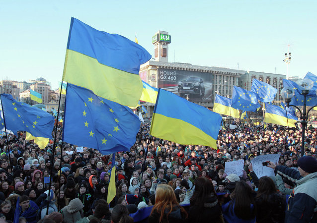 Manifestazione europeista in Ucraina (foto d'archivio)