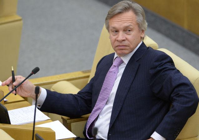 Senatore russo Alexey Pushkov