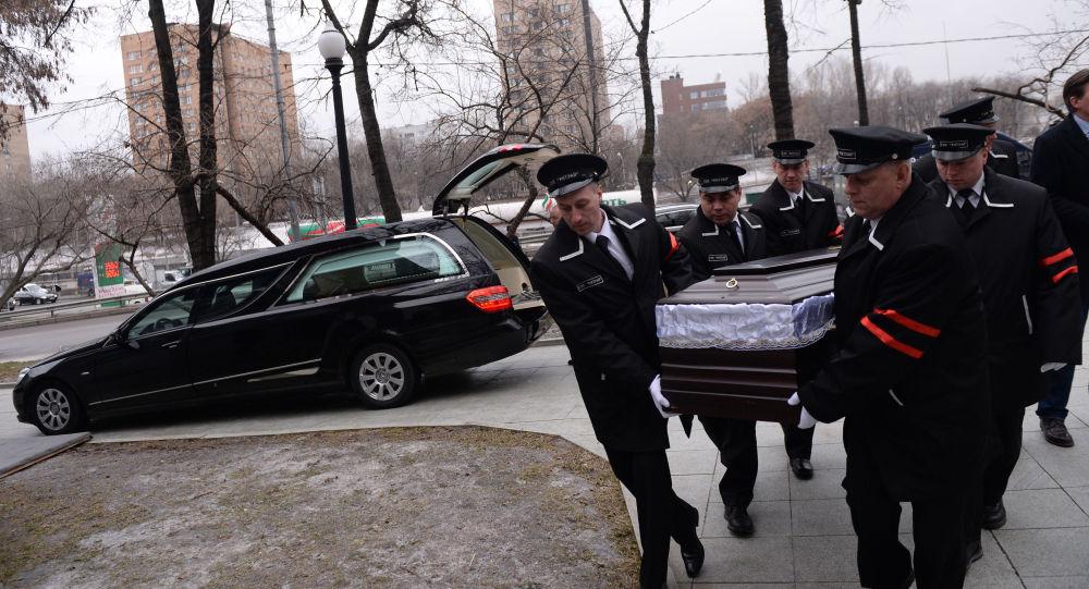 I funerali di Boris Nemtzov  a Mosca