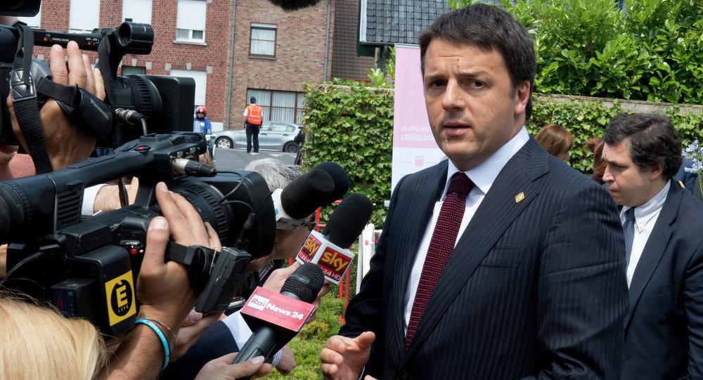Matteo Renzi, il primo ministro italiano