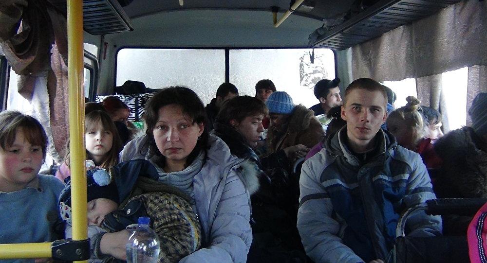 Profughi del Donbass
