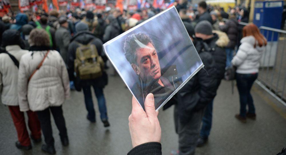 Marcia in memoria di Nemtsov