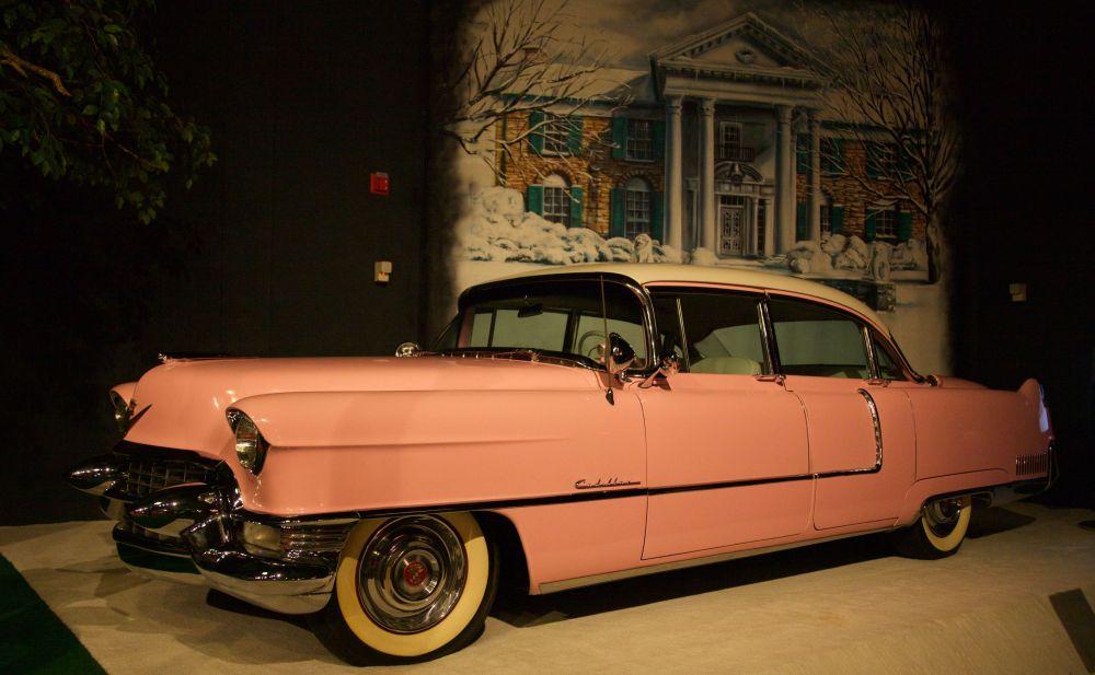 La cadillac rosa di Elvis Presley