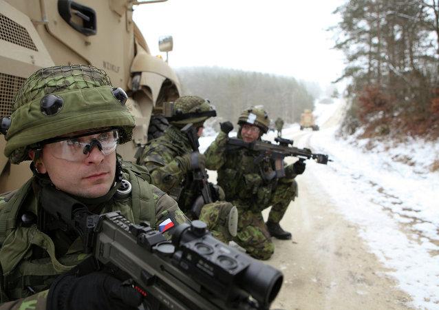 Soldati Repubblica Ceca
