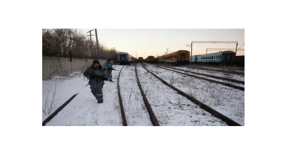 Ferrovia tra la Repubblica Popolare di Lugansk e l'Ucraina