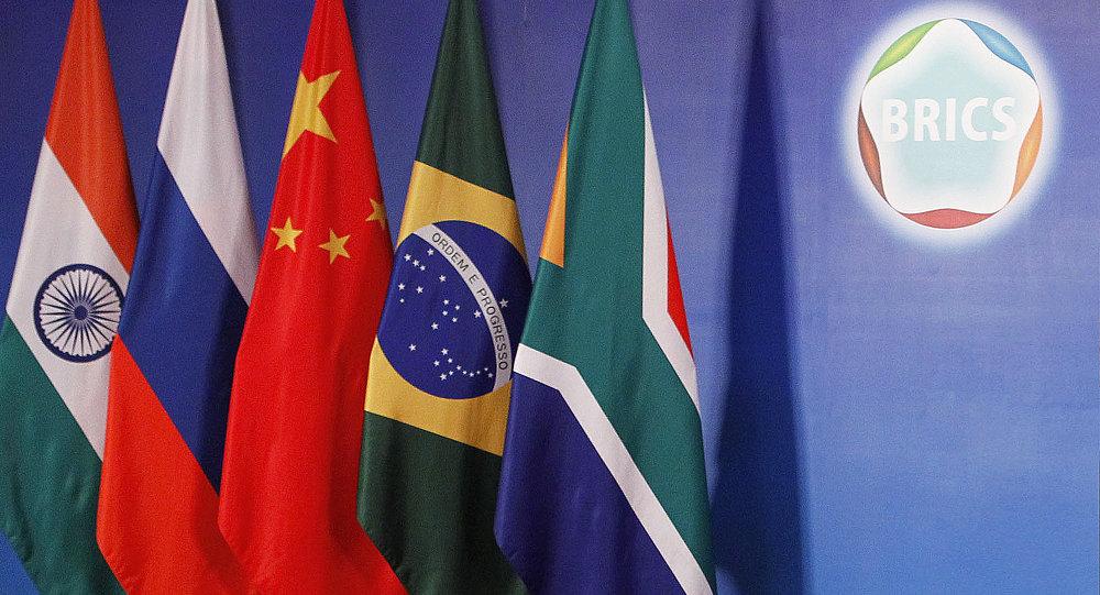 Bandiere degli Stati membri dei Brics
