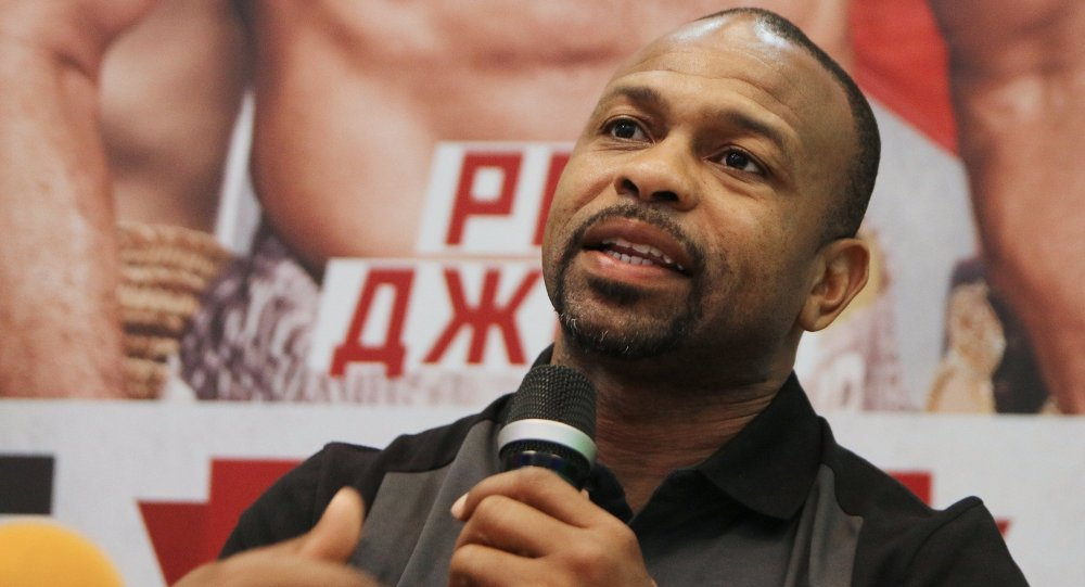 Pugile Roy Jones