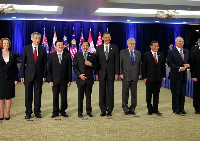 """Presidente Barack Obama incontra i leader del """"Partenariato Trans-Pacifico"""" (TTP)"""