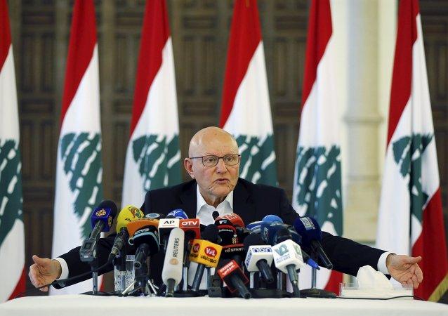Il primo ministro di Libano Tammam Salam