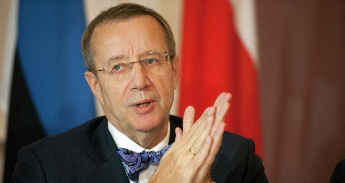 Presidente estone Toomas Hendrik
