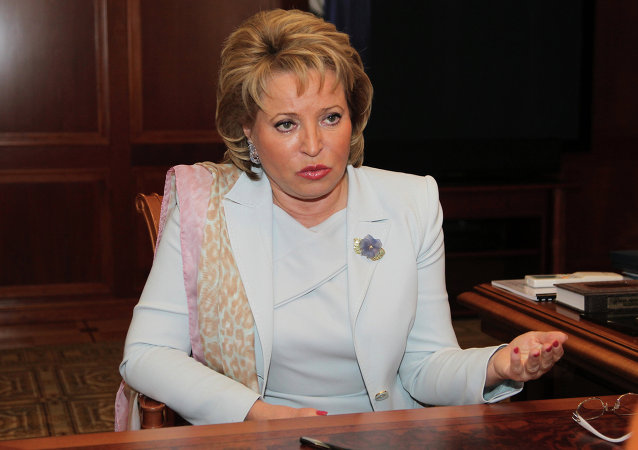 Presidente del Consiglio della Federazione Valentina Matvienko (foto d'archivio)